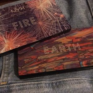 NYX Eyeshadow Palette in Earth and Fire